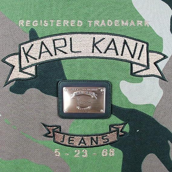 Amazon.com: Karl Kani KK1755 Camo - Sudadera para hombre ...