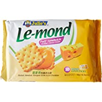 Julie's Le-Mond Puff Sandwich Cheddar Cheese Biscuits, 180 g