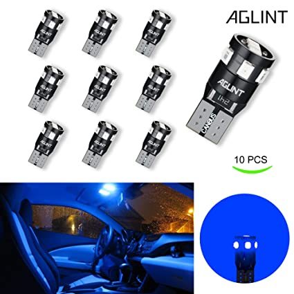 NEW 10Pcs T10 2835 White LED Canbus Super Bright Car Width Lights Lamps Bulbs