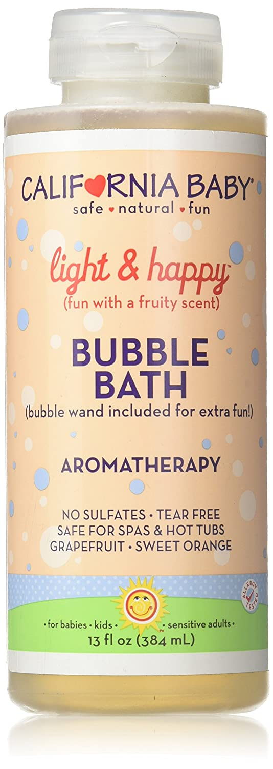 California Baby Light and Happy Aromatherapy Bubble Bath 13 fl oz. 792692000573