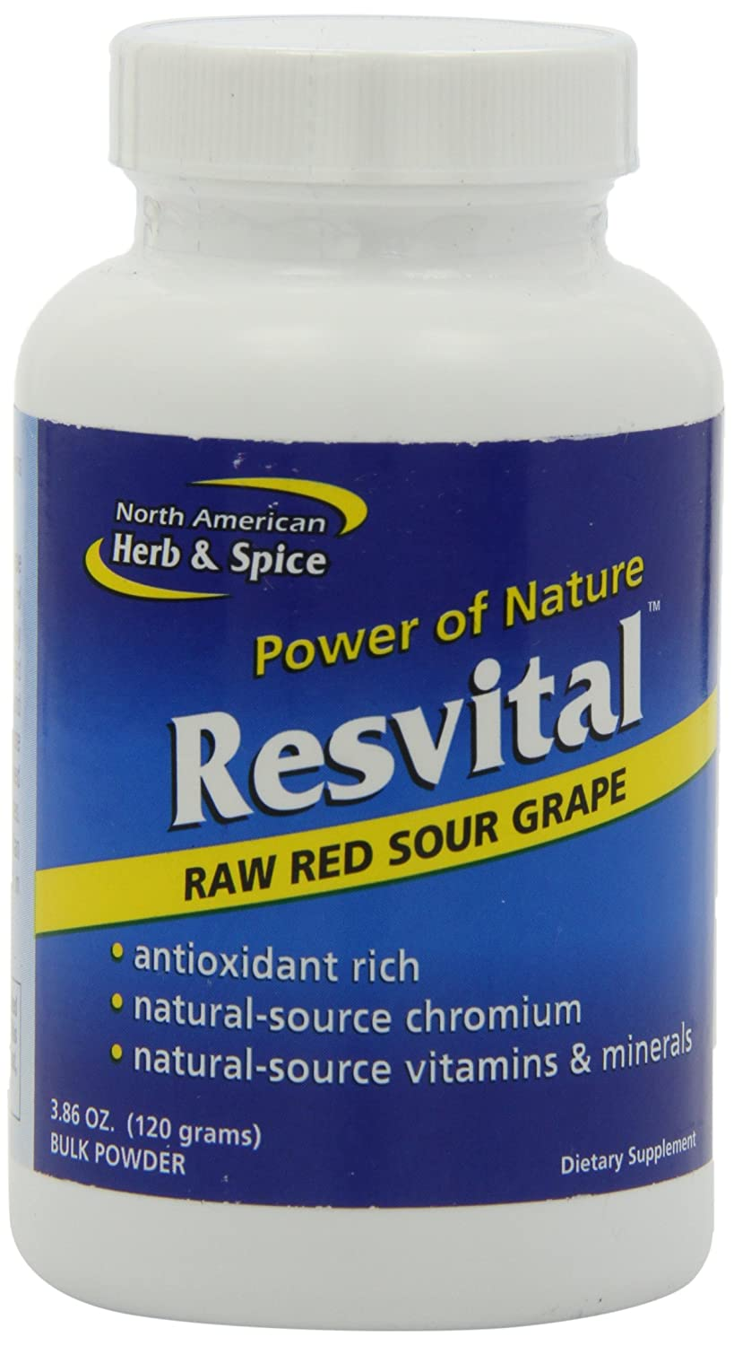 North American Herb and Spice, Resvital Bulk Powder, 120-Grams