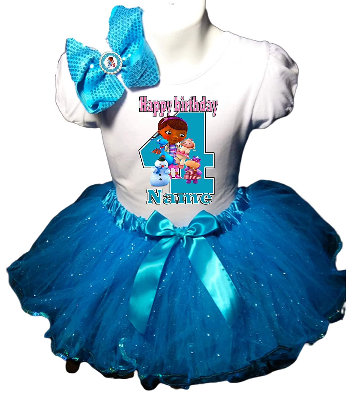 Doc McStuffins Tulle Outfit Soft Pink Doc McStuffins Birthday Dress