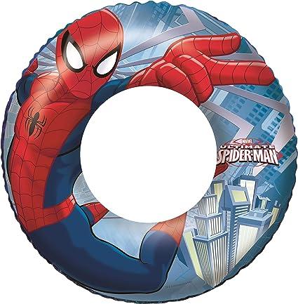 Marvel Ultimate Spiderman Inflatable Swim Ring  Age 3+