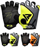 RDX Gym Weight Lifting Gloves Workout Fitness Bodybuilding Breathable Powerlifting Wrist Support Strength Training Exercise