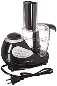 Ovente Pulse Electric Mini Food Processor and Chopper,1.5 Cup Capacity, Black (HA015B)