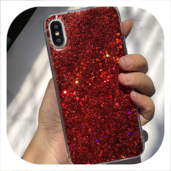 Amazon.com: Glitter Phone Case for Huawei P8 P9 P10 P20 2016 ...