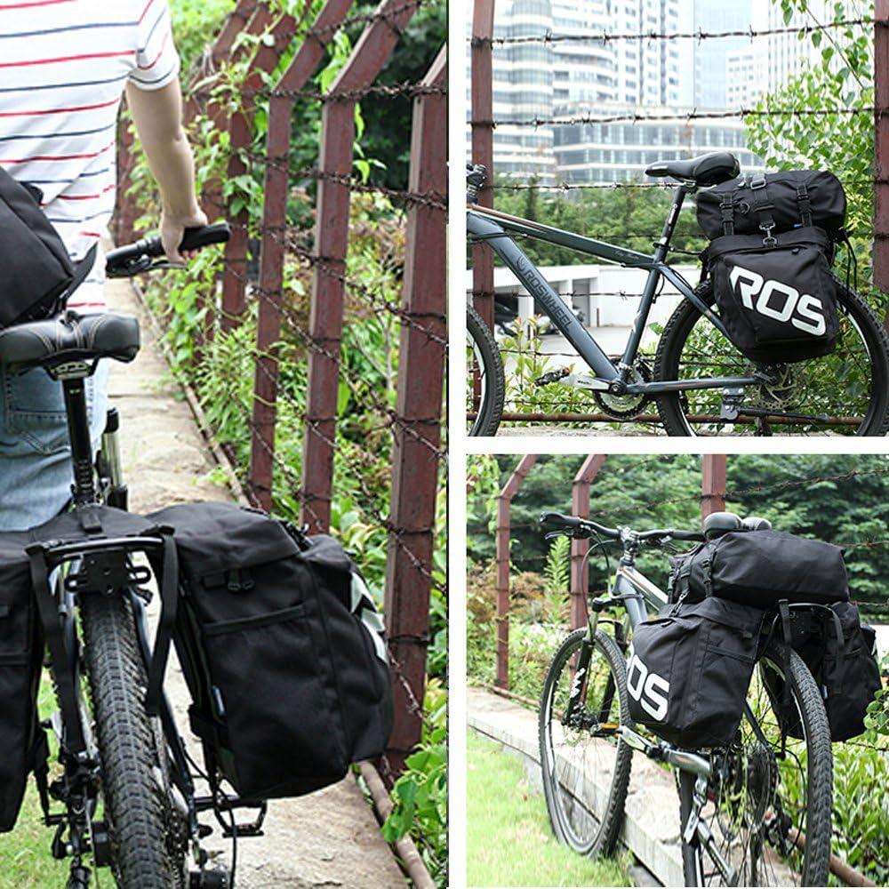 Eshow Alforja Lateral de Cicloturismo Impermeable para Bicicleta ...