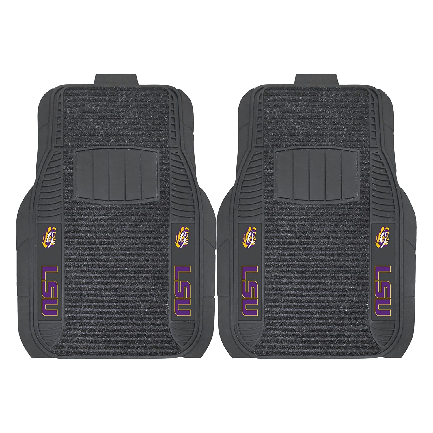 LSU Deluxe Car Floor Mat (Set of 2) Fan Mats