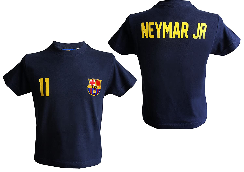 T-shirt Neymar Junior - N°11 - Barça - Collection officielle FC BARCELONE - Taille  enfant garçon 49dbbfa4910