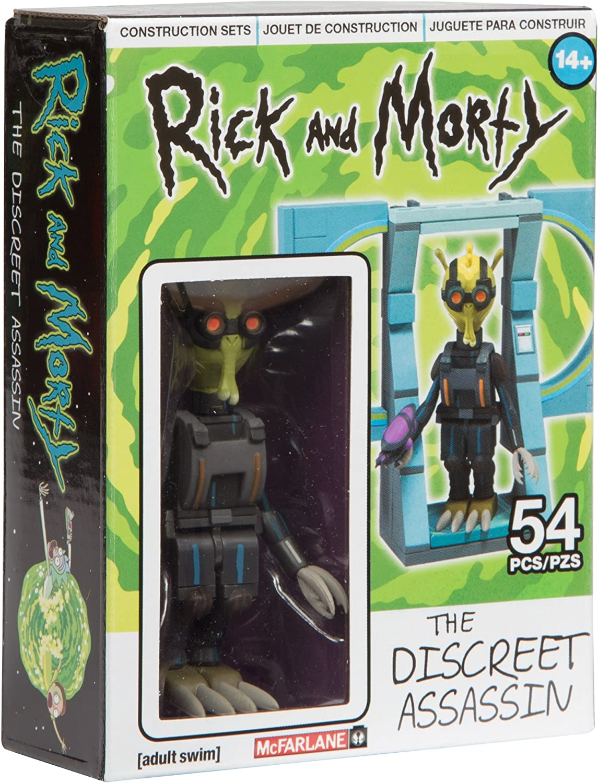 2016 Rick /& Morty Spaceship /& Garage 2 Figures 293 Piece Figures McFarlane Toys