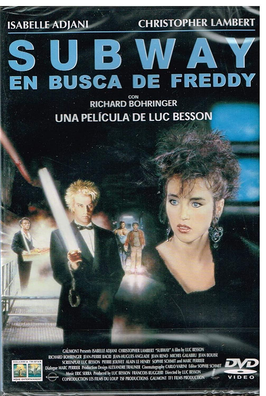 Subway : En busca de Freddy [DVD]: Amazon.es: Christopher Lambert, Isabelle Adjani, Richard Bohringer, Jean-Pierre Bacri, Jean Reno, Jean Bouise, ...