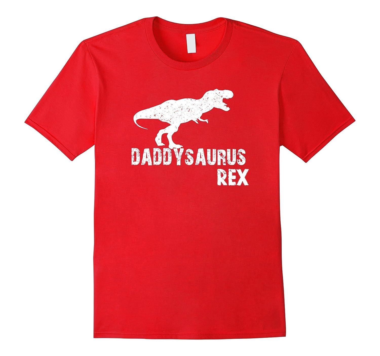 0ef8ae9f Daddysaurus Dinosaur Dino Daddy Fathers Day Tshirt-CD – Canditee