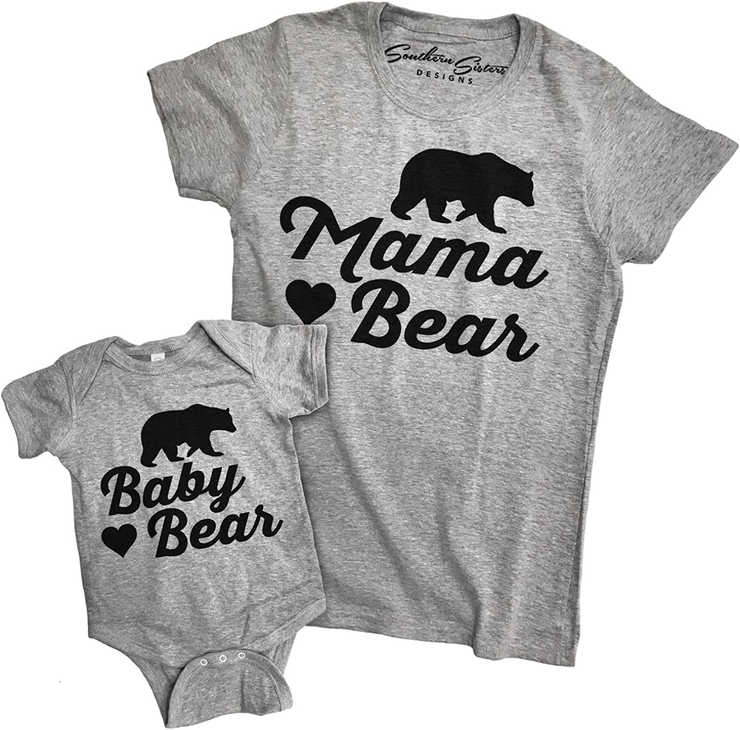 Mama Bear Shirt Set Mommy and Me Shirts Mom and Son Shirts,Mom and Daughter Shirts,Baby Bear Shirt Mommy and Me Outfits Mothers Day Gift
