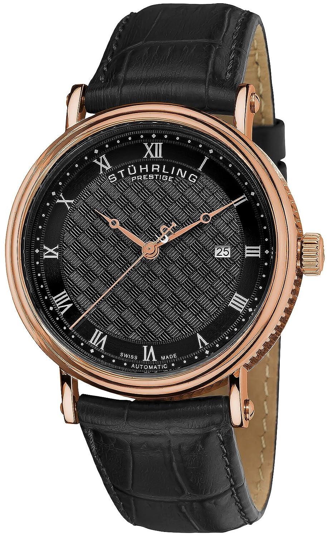 Prestige Herren-Armbanduhr Automatik Braun 358.334K1