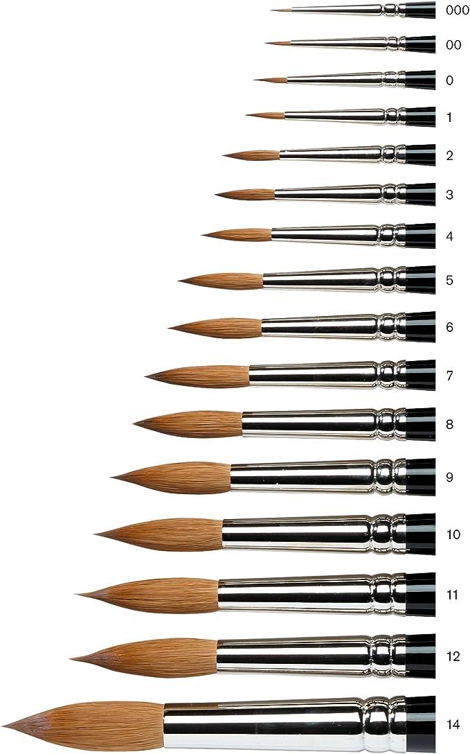 Winsor   Newton Series 7 Kolinsky Sable Water Colour Brush  size 00