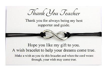Thank You Teacher - Pulsera de regalo de agradecimiento al ...
