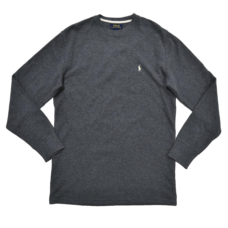 Polo Ralph Lauren Men's Long-sleeved T-shirt / Sleepwear / Thermal Dark Gray)