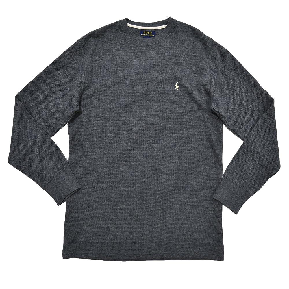 b8e2024f Buy Polo Ralph Lauren Mens Thermal Sleep Shirt Waffle Knit (L, Dark ...