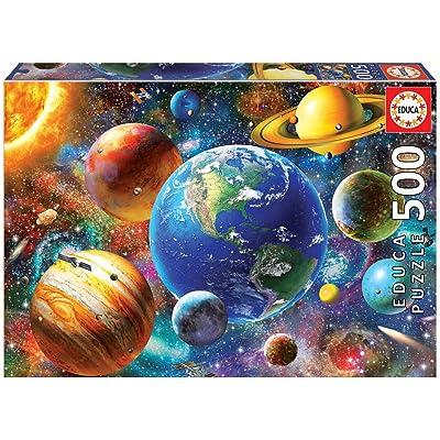 Educa Borrás- Solar System (18449): Toys & Games