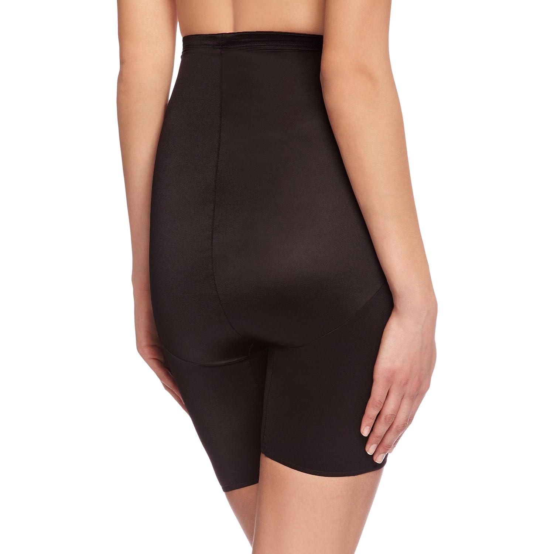 fc9ddbf5bcc Miraclesuit Hi-Waist Thigh Slimmer Women s Briefs Black XL (UK  16)   Amazon.co.uk  Clothing