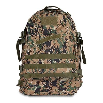 3D Tactical Backpack Camping Hiking Trekking Bag Outdoor Military Rucksack