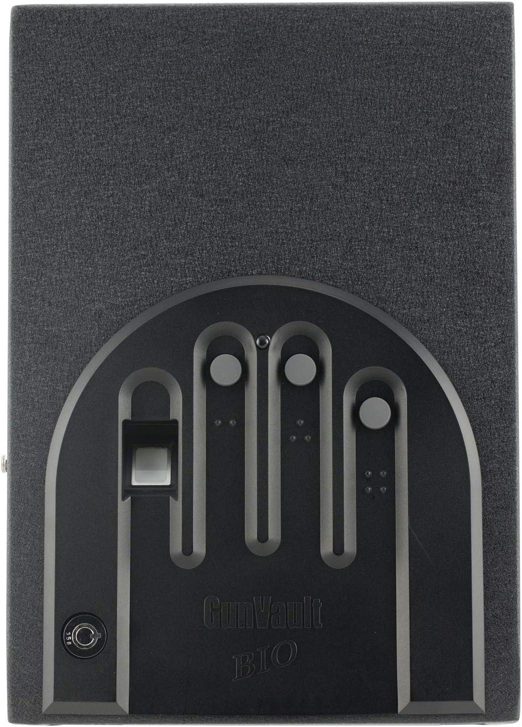 B001ABLN4A GunVault Minivault Biometric Biometric Pistol Safe GVB1000 81vAcol6ApL