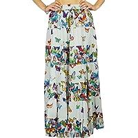 Phagun Indian Wear Skirt Long Maxi Skirt Beach Wear Cotton Summer Wear