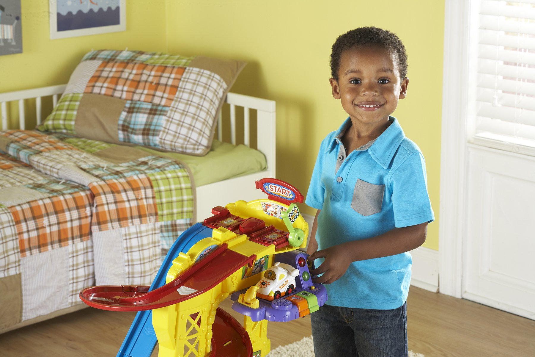 VTech Go! Go! Smart Wheels Ultimate Amazement Park Playset (Frustration Free Packaging) by VTech (Image #6)