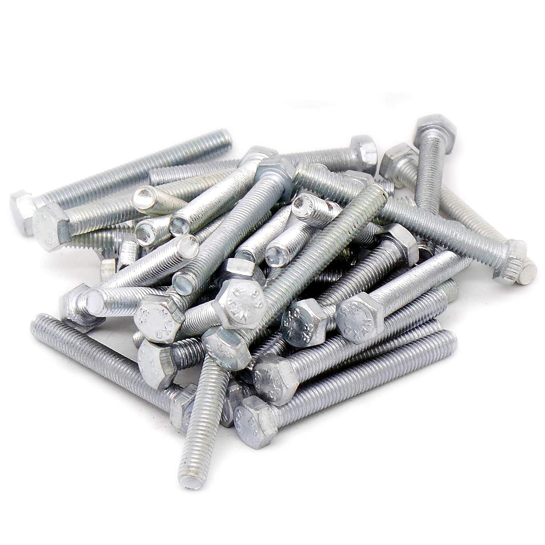 lot de 40 5/mm X 40/mm Enti/èrement filet/ée Tige filet/ée hexagonale Boulons /Acier M5/ /