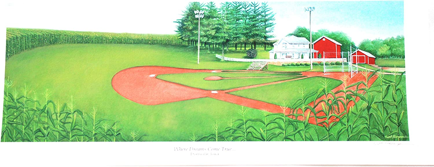 FIELD OF DREAMS 8 x 18 Souvenir Fine Art Print Unframed