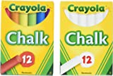 Crayola Non-Toxic White Chalk(12 ct box)and Colored Chalk(12  sc 1 st  Amazon.com & Amazon.com: Crayola Wooden Table And Chair Set: Toys u0026 Games