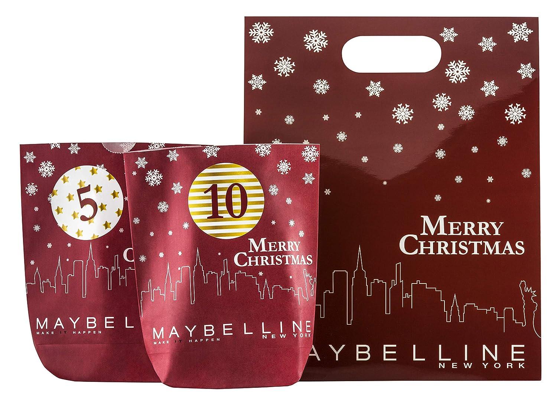 maybelline adventskalender make it happen