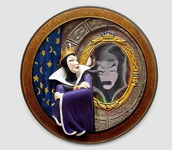 Amazoncom Disney Snow White Collectible Plate Evil Queen Magic