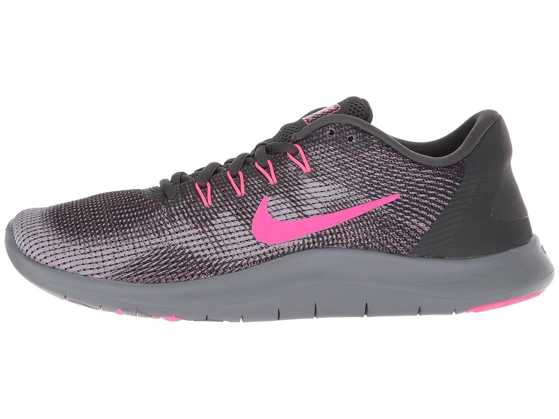 NIKE Women's Flex RN 2018 Running Shoe B075ZY4QK7 7.5 B(M) US|Anthracite/Hyper Pink/Wolf Grey