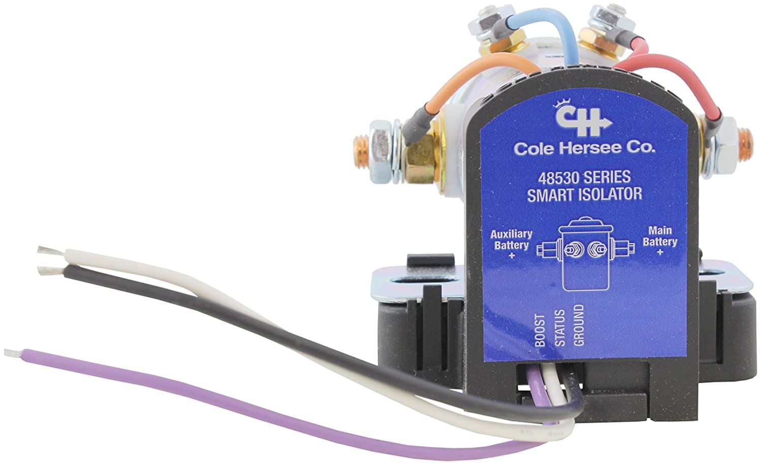 Cole Hersee 48530 Smart Battery Isolator 200a Automotive Tocharge Wiring Harness Diagram Gmc