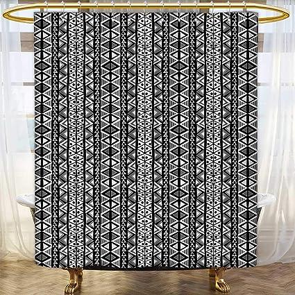 Amazon.com: Anhounine Retro Shower curtains sets bathroom ... on set sofa designs, set bathroom accessories, set bathroom christmas, set bedroom,