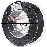 HICTOP stampante 3D 1,75 millimetri ABS Filament - 1 kg bobina (2,2 lbs) - Precisione dimensionale +/- 0,05 millimetri (nero)