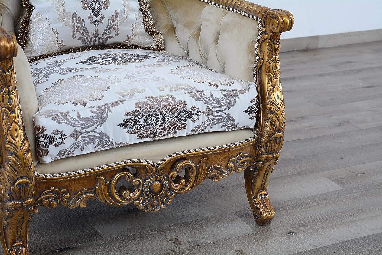 Amazon Com European Furniture Maggiolini Accent Chair Kitchen Dining