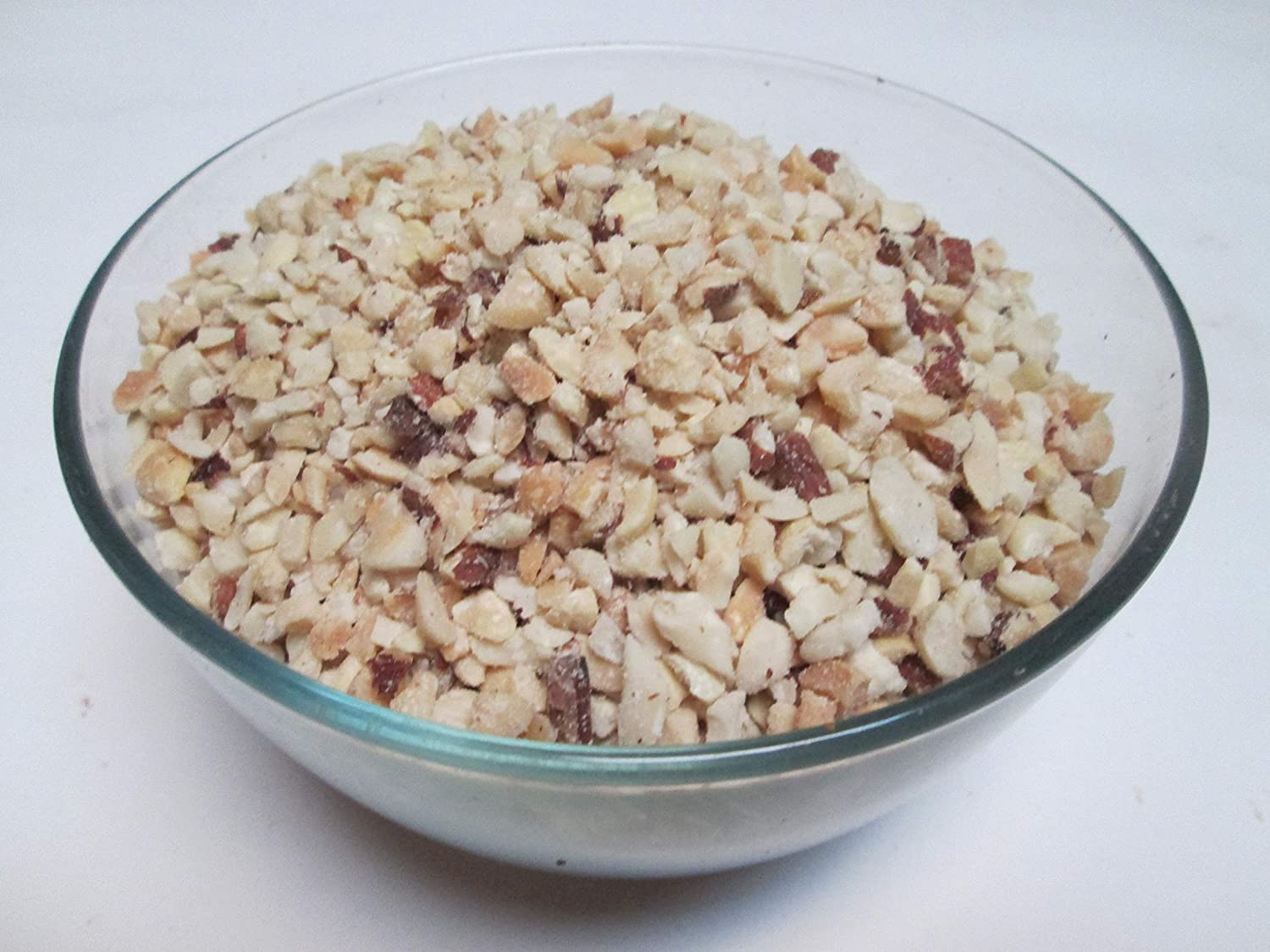 Nut Topping- Blend of 7 Chopped Nuts, 2 Lb Bag, Roasted Unsalted -Candymax