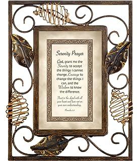 cb gift heartwarming expressions serenity prayer metal framed print
