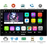 ATOTO A6 Android Car Navigation Stereo - 2X Bluetooth & Quick Charge - Premium A6Y2721P 2G/32G Universal Auto Entertainment Multimedia Radio,WiFi/BT Tethering Internet,Support 256G SD & More