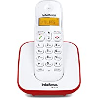 Telefone sem Fio Digital, Intelbras, TS 3110, Vermelho