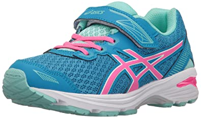 ASICS Girls' GT-1000 5 PS Running Shoe, Diva Blue/Pink Glow