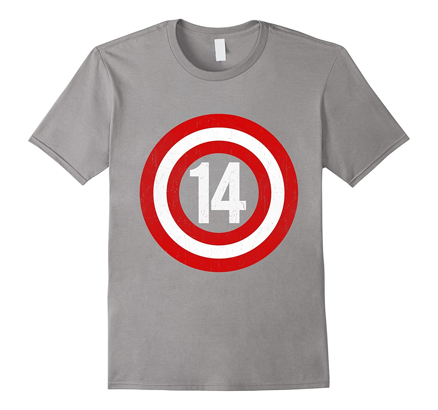 Captain 14th Birthday Tshirt Gift 14 Years Old Kids Boy