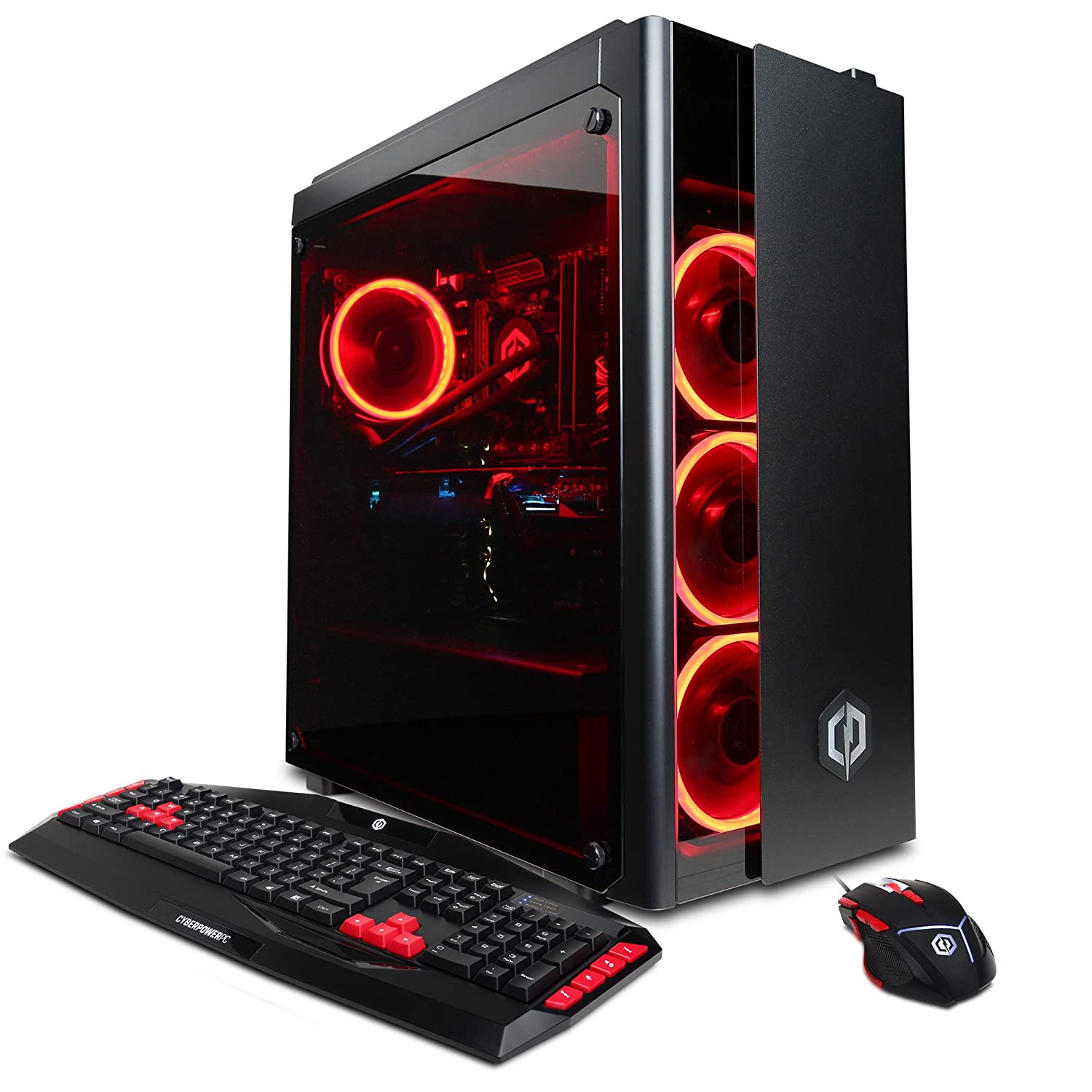 Amazon.com: CYBERPOWERPC Gamer Xtreme VR Gaming PC Desktop GXiVR8080A2  w/Liquid Cooled Overclockable Intel i7-8700K 3.7GHz CPU, 16GB DDR4, NVIDIA  GTX 1080 ...