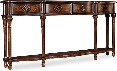 Hooker Furniture 72 Hall Console, Medium Wood