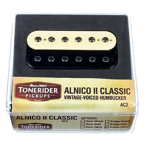 Tonerider ac2 N-za Alnico II Classics neck-zebra – Pastilla para guitarra