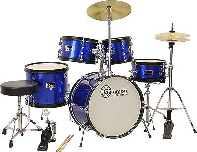 Gammon 5-Piece Junior Starter Drum Kit with Cymbals