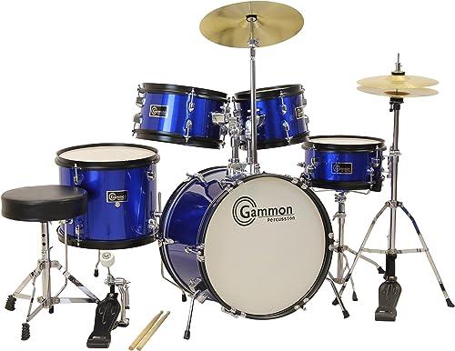Junior Starter Drum Kit with Cymbals