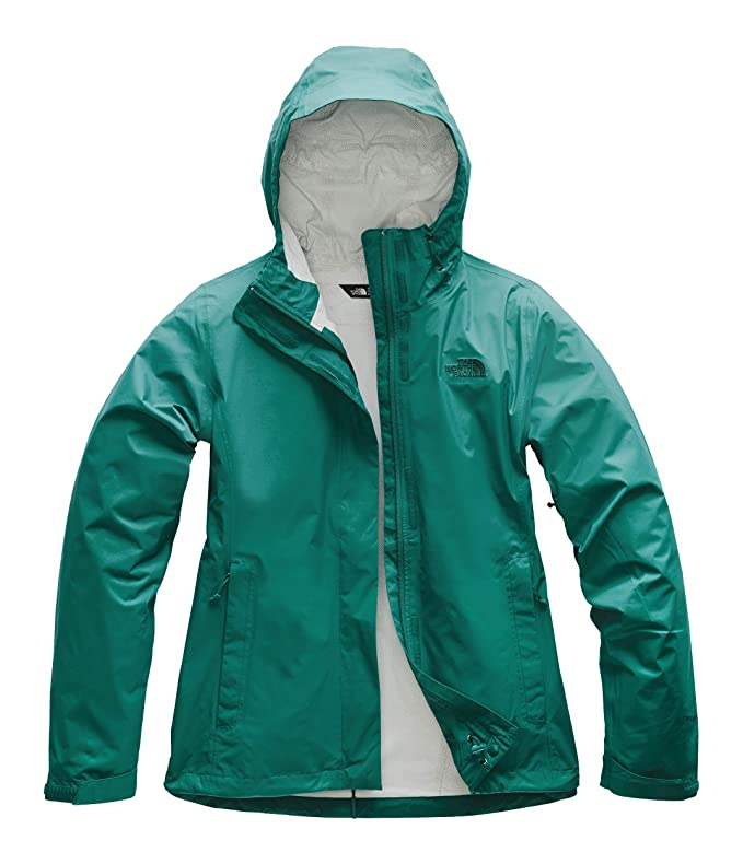 The North Face Women's Venture 2 Jacket Everglade Medium best women's raincoat